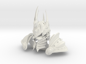 Lich King style armor in White Natural Versatile Plastic