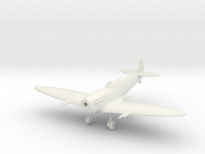 Spitfire Mk Vc Wheels Down in White Natural Versatile Plastic: 1:144