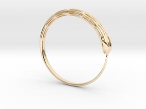 SAKE V 2 in 14k Gold Plated Brass