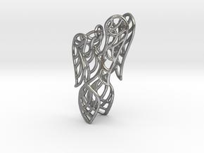 Phoenix Earrings (conture) in Natural Silver