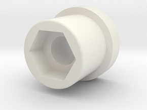 Stably Pro - Handle Cap in White Natural Versatile Plastic