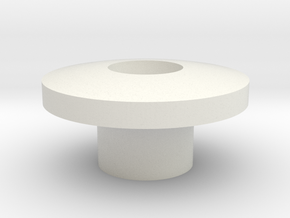 iStably Pro Ceramic - Gimbal Bearing Cap in White Natural Versatile Plastic