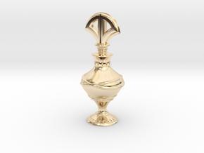Eyeliner Bottle - Kohl in 14k Gold Plated Brass