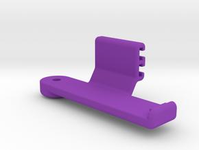 HDR-AZ1 Direct Contour T-Rail Side Mount in Purple Processed Versatile Plastic