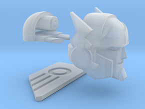 """Broadcaster Head """"MTMTE"""" in Smooth Fine Detail Plastic"""
