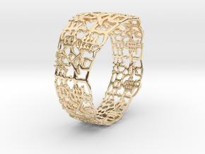 PAN Bracelet D64 RE115s1A10m25M45FR041-plastic in 14K Yellow Gold