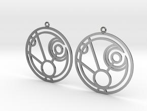 Maggie - Earrings - Series 1 in Premium Silver