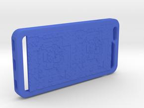 8bit era iPhone6+ case in Blue Processed Versatile Plastic
