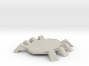Spidey token in Natural Sandstone