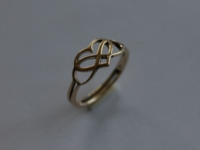 Forever Love Ring Ring Size 7 in 14K Yellow Gold