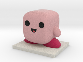 Kirby Figure in Full Color Sandstone
