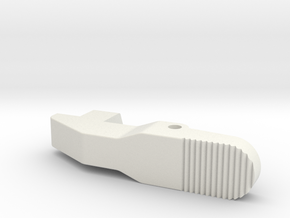Airsoft G36 Magazine Adapter Catch Improved-Ver in White Strong & Flexible