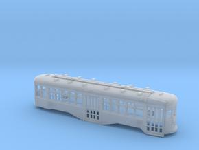 HO B&QT 8000-series Peter Witt Body w/Roofwalk in Smooth Fine Detail Plastic