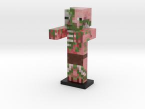 Zombie Pigman (sans sword) in Full Color Sandstone