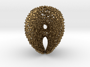 Chen-GackstatterMinimal Surface with Voronoi Cells in Raw Bronze