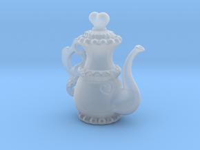 Lolita Heart Teapot Pendant in Smooth Fine Detail Plastic