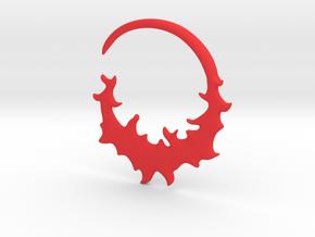 Ear Hook - Flame  in Red Processed Versatile Plastic