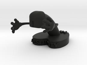 Absurd 1 Medium in Black Strong & Flexible