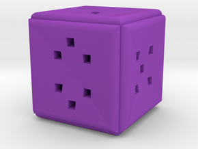 Dice163 in Purple Processed Versatile Plastic