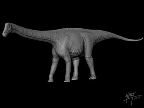 Lirainosaurus 1/72 in White Natural Versatile Plastic