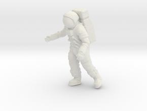 Apollo 11/ The First Step / 1:24 in White Natural Versatile Plastic