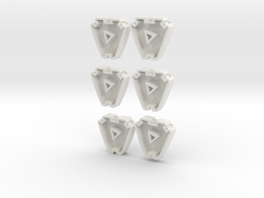 Gewichte ähnlich Liebherr 6 Stück in White Natural Versatile Plastic