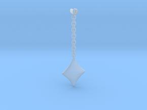 Earpod Earrings | Diamonds ♢ in Smooth Fine Detail Plastic