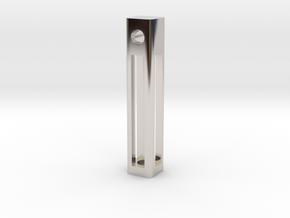 A Tritium Pendant in Platinum