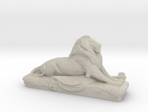 Lion sculpture  in Natural Sandstone