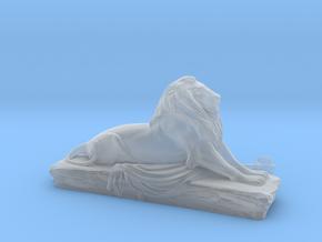 Lion sculpture  in Smooth Fine Detail Plastic