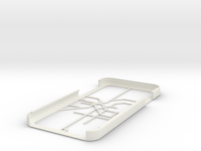 LA Metro Rail map iPhone 6 case in White Natural Versatile Plastic