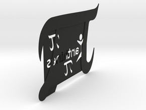 PI Picture Frame: A Xanthines Exclusive in Black Strong & Flexible