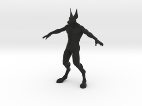 Prototype Jackal God of the Living Impaired in Black Natural Versatile Plastic