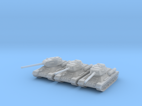 1/220 T-34-85 tank in Frosted Ultra Detail