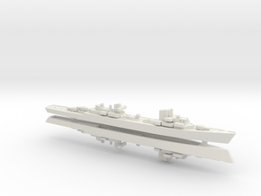 Spahkreuzer 1/2400 in White Natural Versatile Plastic