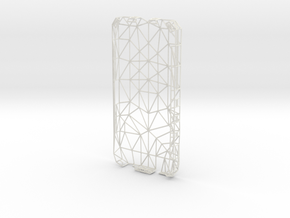 Iphone 5 Wire Case in White Natural Versatile Plastic