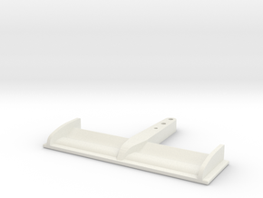 RC F1 Wing mid 90s in White Natural Versatile Plastic