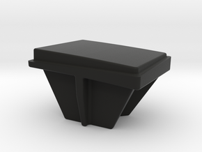 AirBeam Switch Cap in Black Natural Versatile Plastic