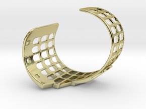 COLOSSEUM BRACELET ORIGINAL (Cut Through) Small in 18k Gold Plated Brass