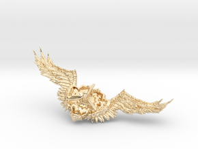 Wings badge in 14K Yellow Gold