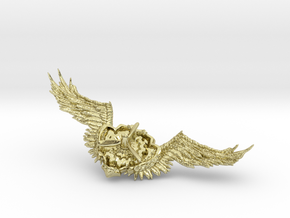 Wings badge in 18K Gold Plated