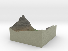 Terrafab generated model Wed Feb 18 2015 14:12:54  in Full Color Sandstone