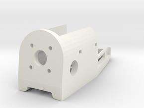 mini-MUTT Motor Mount in White Natural Versatile Plastic