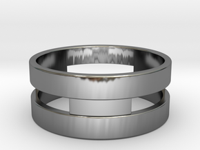 Ring g3 Size 7- 17.35mm in Fine Detail Polished Silver
