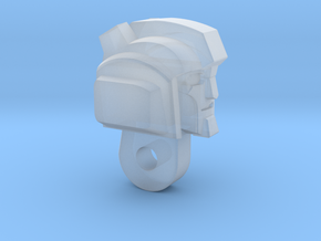 "Grumpy Bot ""MTMTE"" Head in Smooth Fine Detail Plastic"