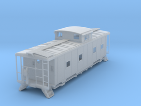 ACL M5 Caboose, split window - O in Frosted Ultra Detail