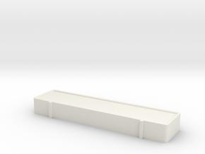 Lyskasse in White Natural Versatile Plastic
