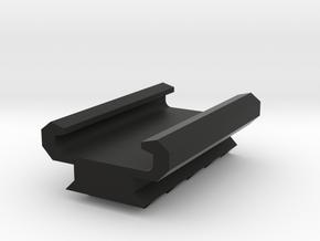 KWA HK Socom mk.23 Pistol Rail Adaptor Airsoft in Black Natural Versatile Plastic