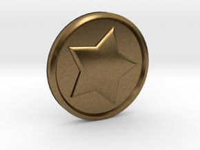 Animal Crossing: Bell Coin in Natural Bronze