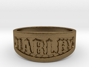 Harley Ring Size 14 in Natural Bronze